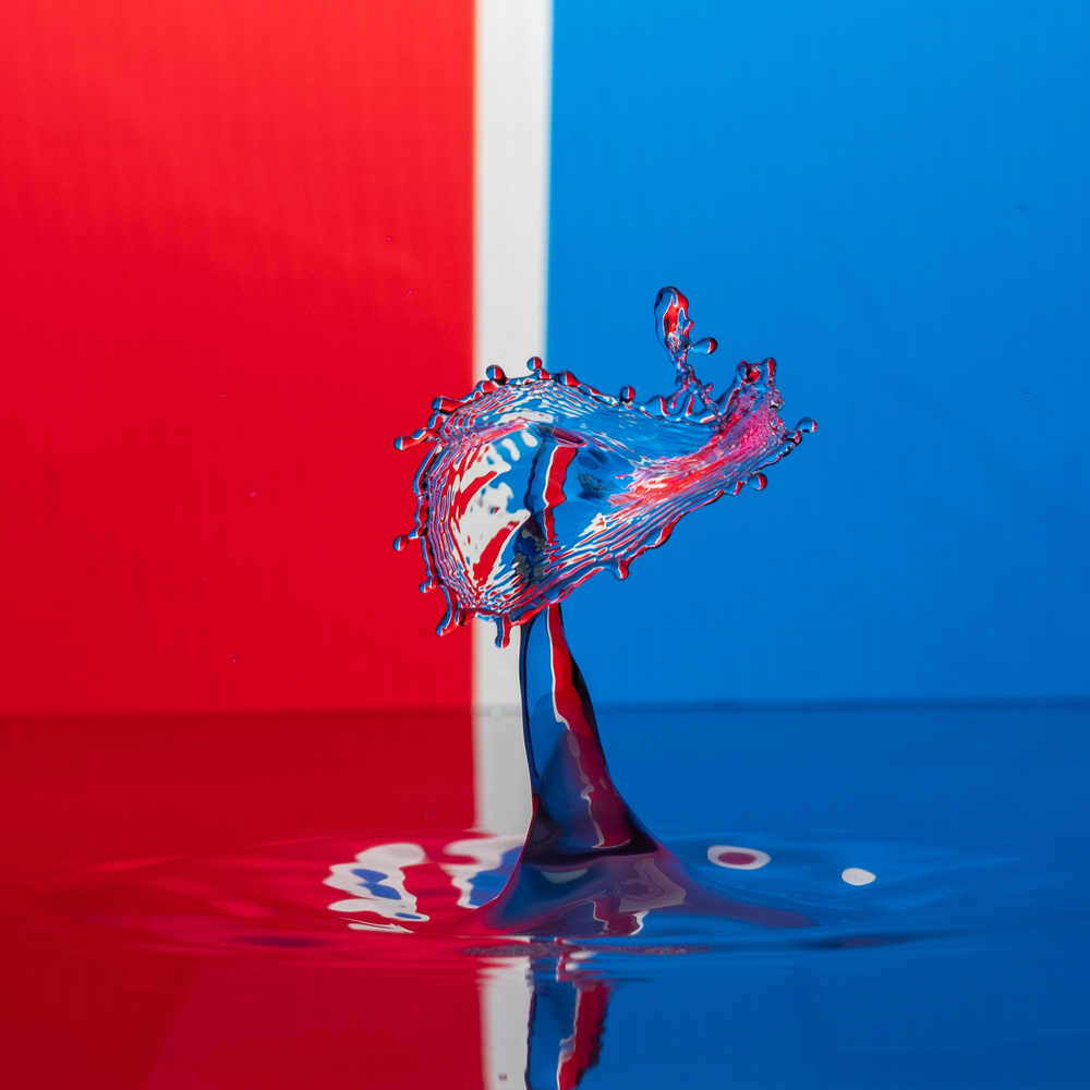 Red White and Blue by Maurice Waters