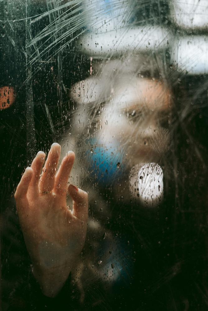 through the glass by Royan Descartes