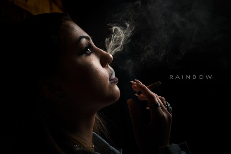 Smoking Portrait by Robert Rainbow