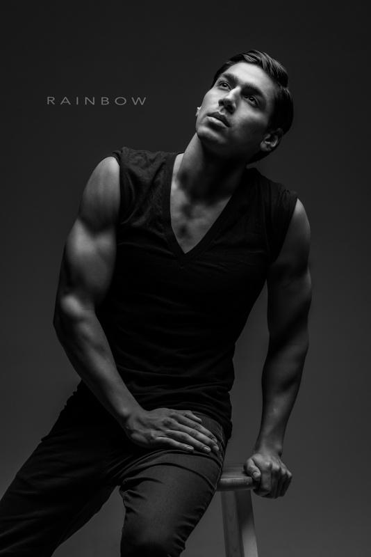 Male Fit Portrait by Robert Rainbow