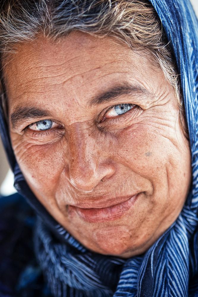Blue eyed begger by Joseph Humphries