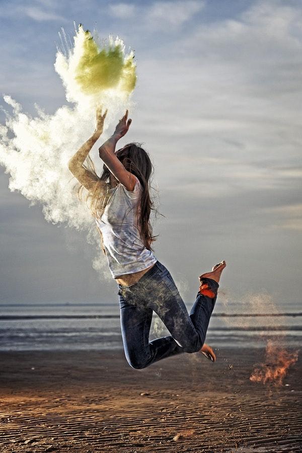 Powder Dance by Joseph Humphries