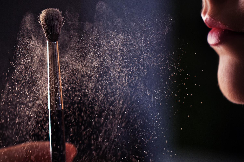 Macro Powder Brush by Joseph Humphries