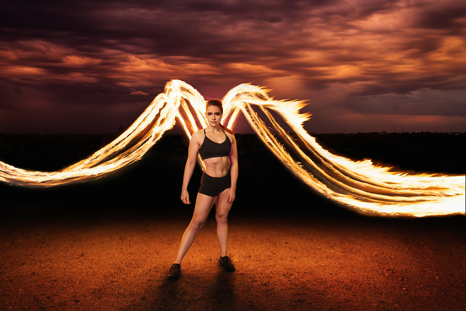 Fire Wings by Aaron Anderson