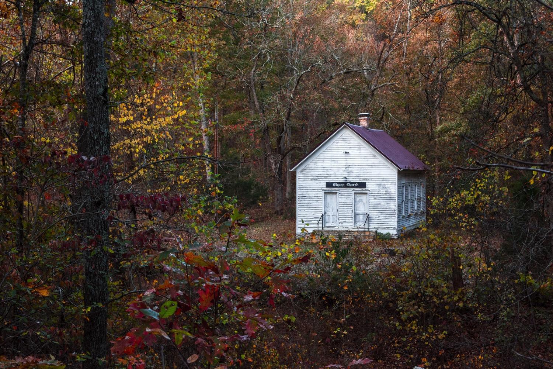 Winona Church & School Of Eureka Springs Arkansas by John Crisp