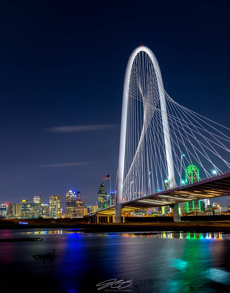 Margaret Hunt Bridge (Dallas Texas) by John Crisp