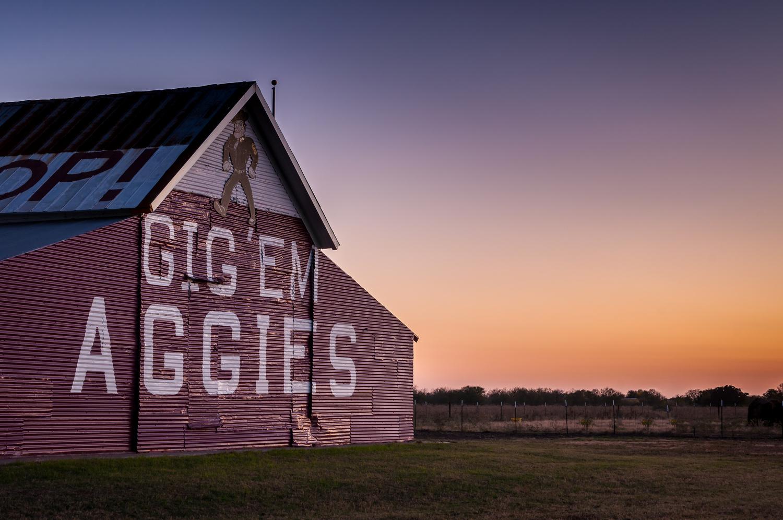 The Aggie Barn by John Crisp