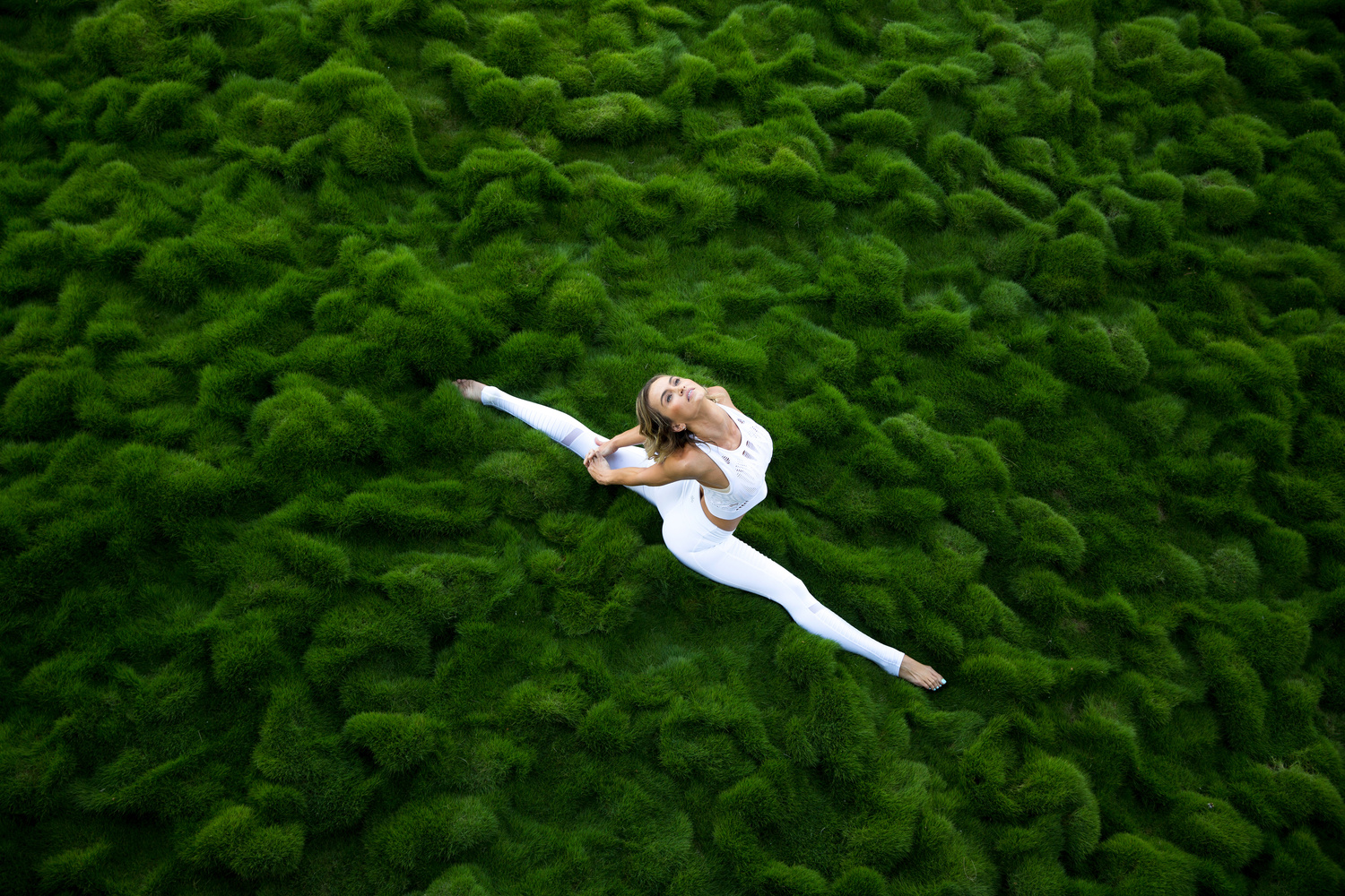 Broccoli Yoga by Andrea Domjan