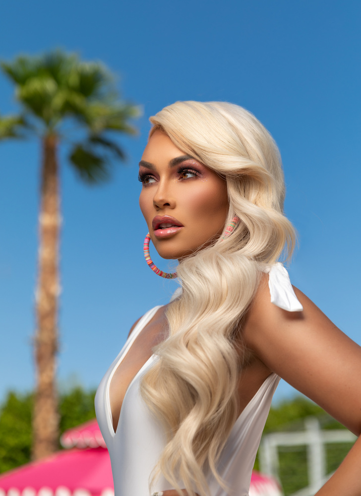 Palm Springs Barbie by Andrea Domjan