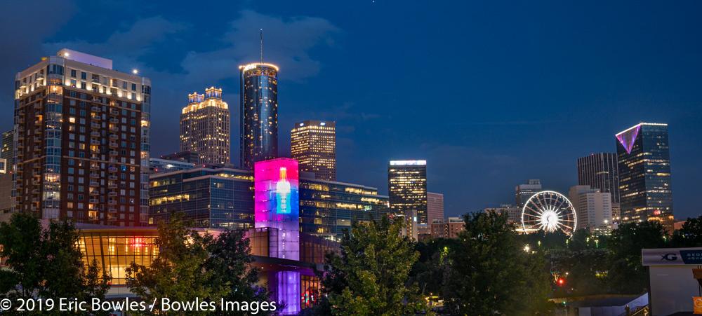 Atlanta Skyline by Eric Bowles