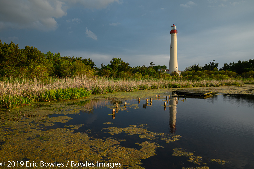 Lighthouse - Cape May by Eric Bowles