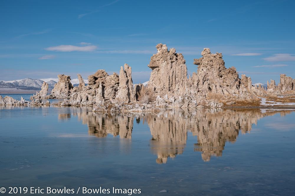 Mono Lake Reflection by Eric Bowles