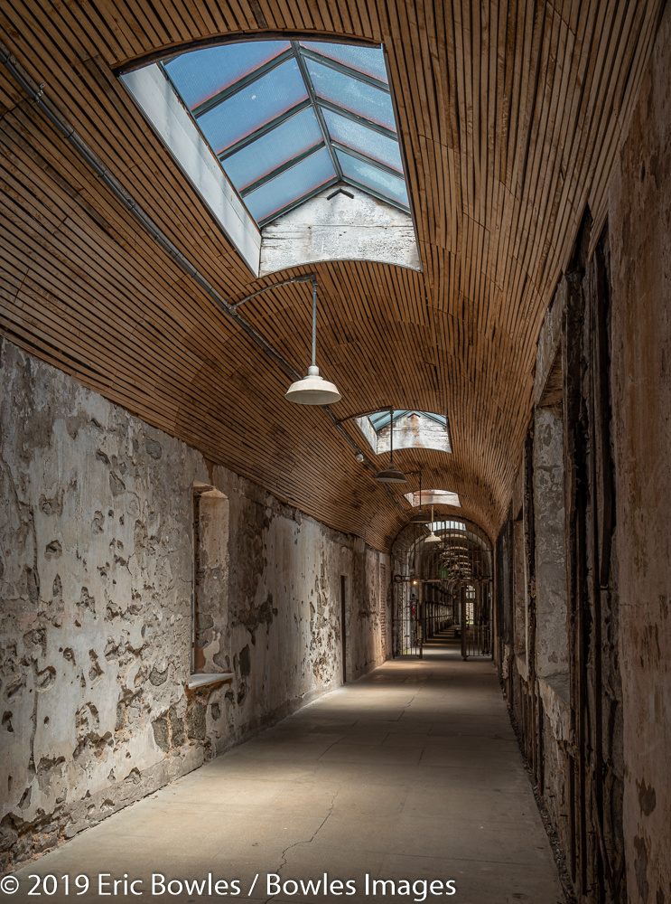 Eastern State Pen Hallway by Eric Bowles
