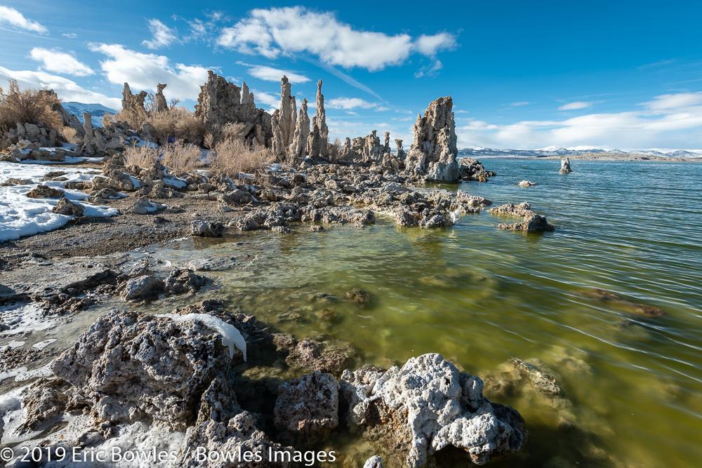 Mono Lake Tufas by Eric Bowles
