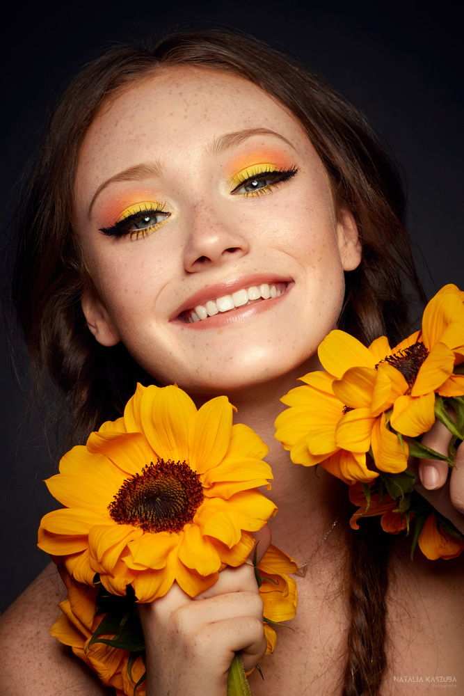 Miss Sunflower by Natalia Kaszuba