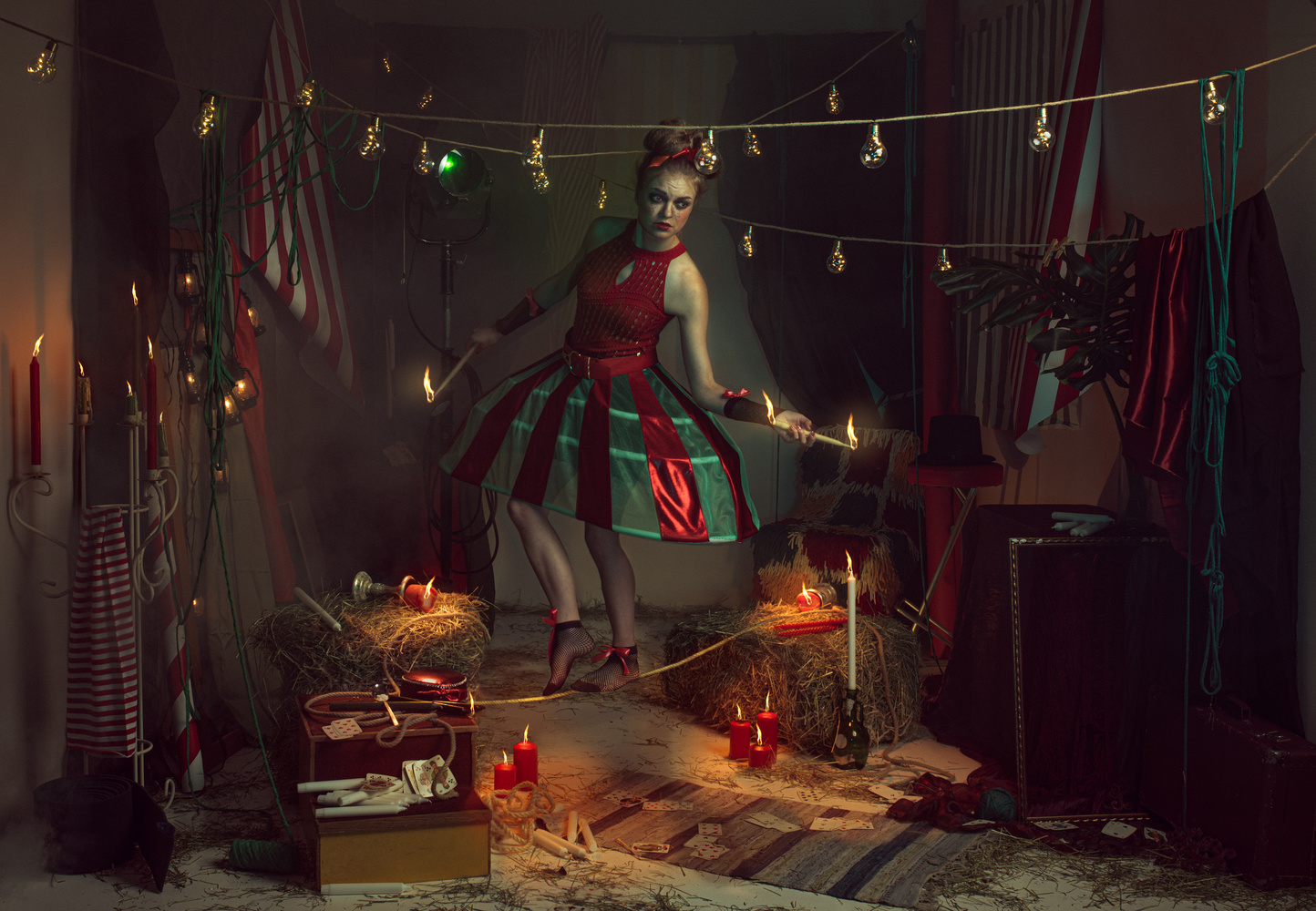 """Stories from the Melancholy Circus / Chapter III: """"Unstable times of the Rope Dancer"""" by Suvi Sievilä"""