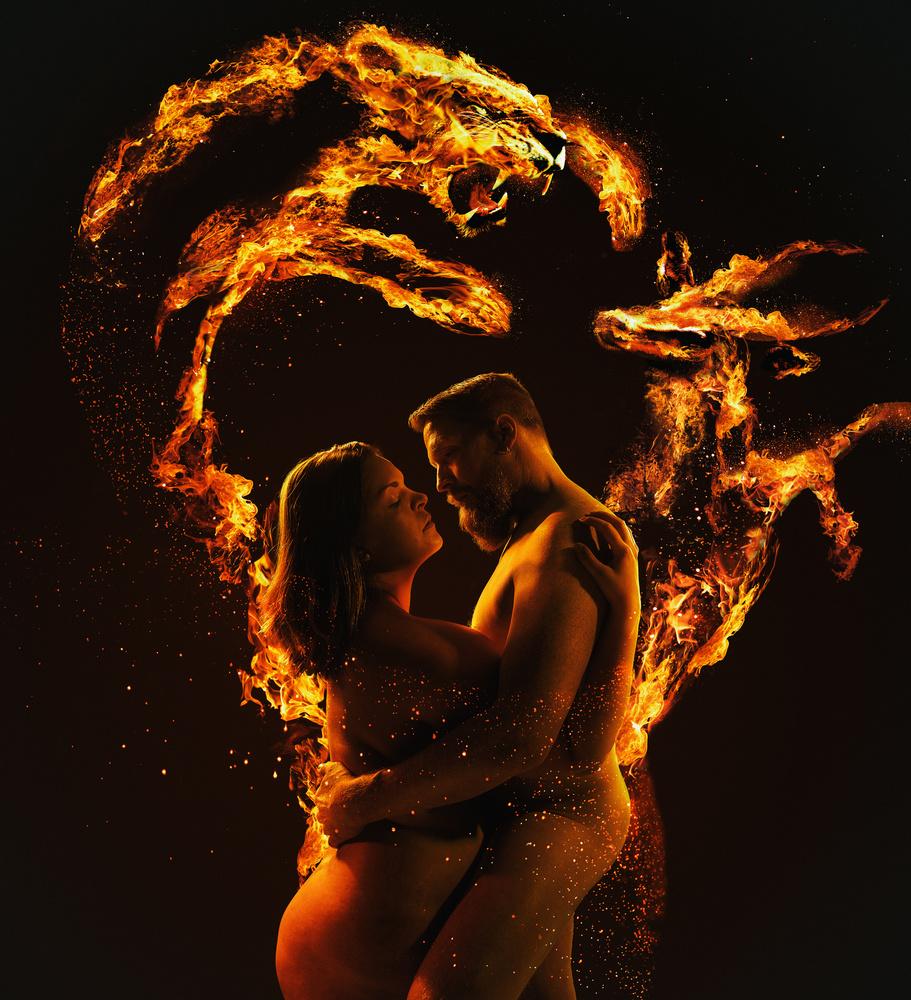 The fire under our skin by Suvi Sievilä