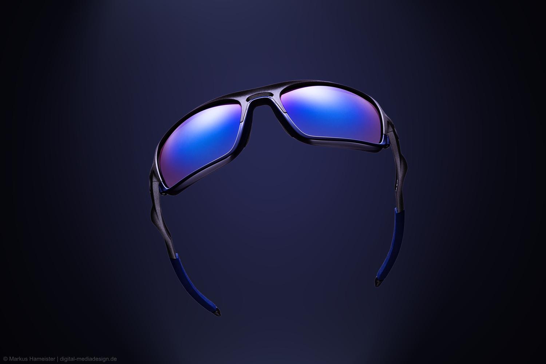 Oakley Triggerman Steel Ice Iridium Sun Glasses by Markus Hameister