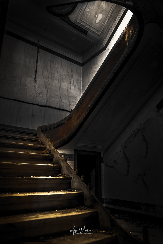 Up stairs by Miguel Martins