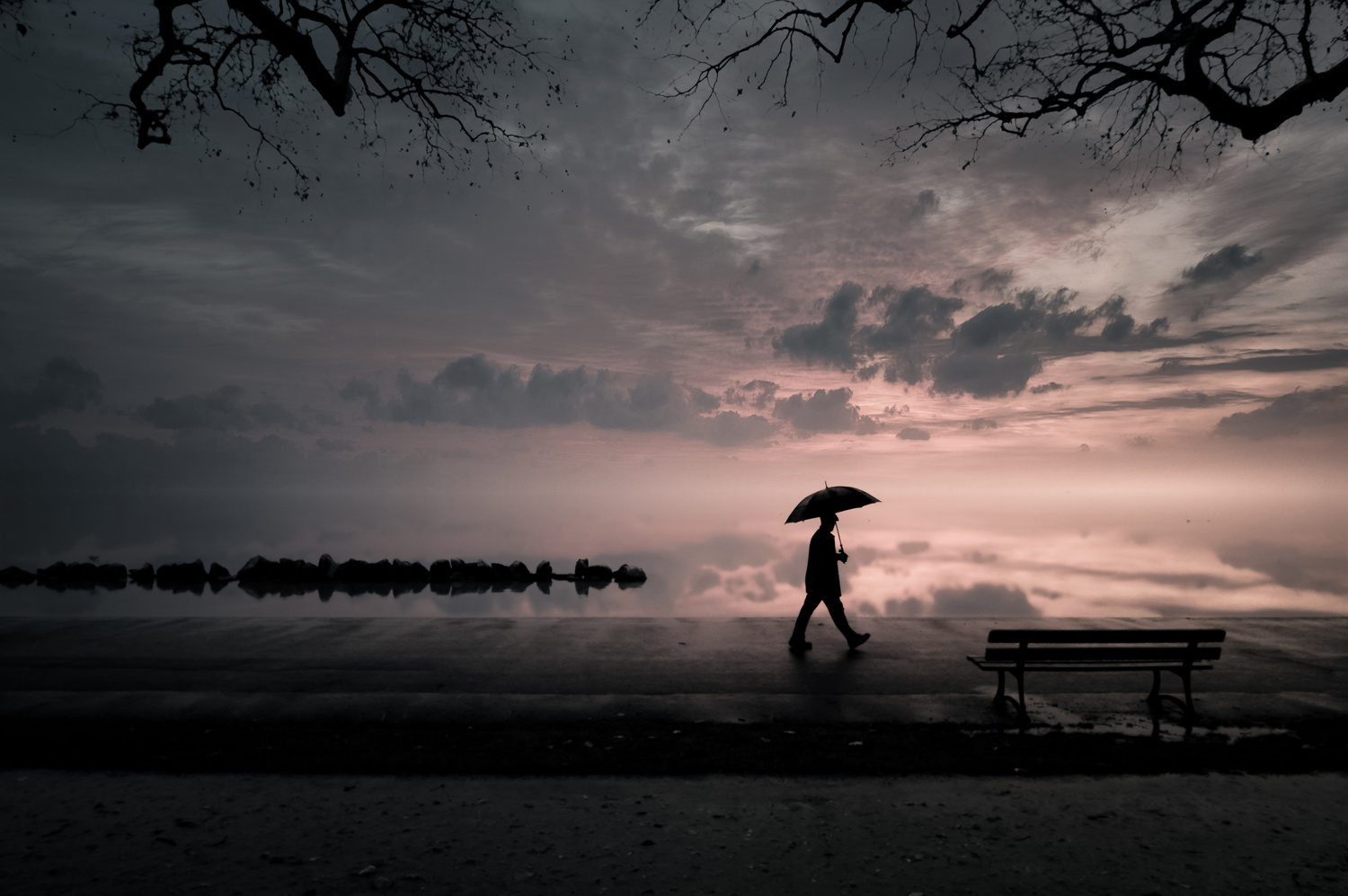 Raining days by Miguel Martins