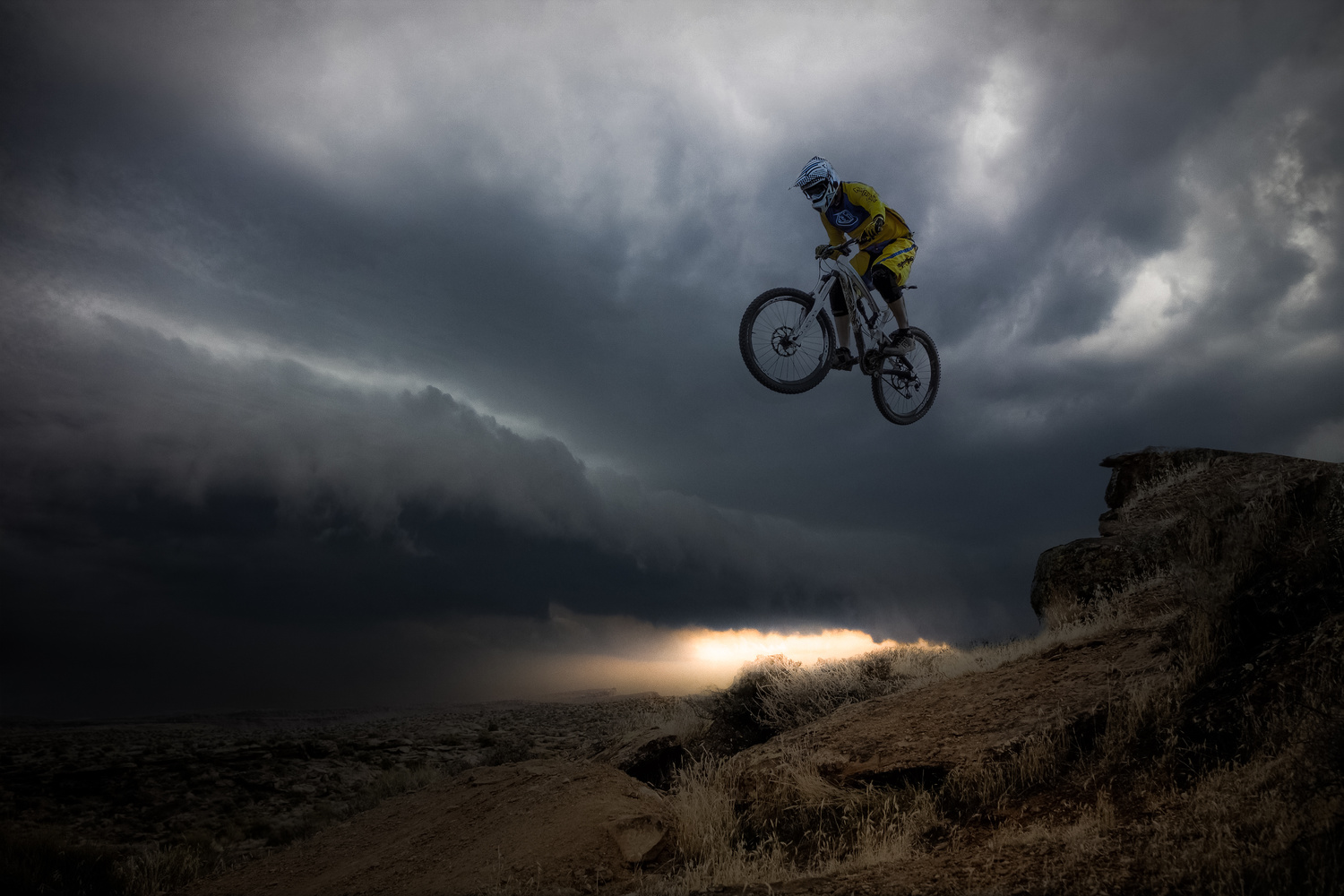 Over the Storm by Miguel Martins
