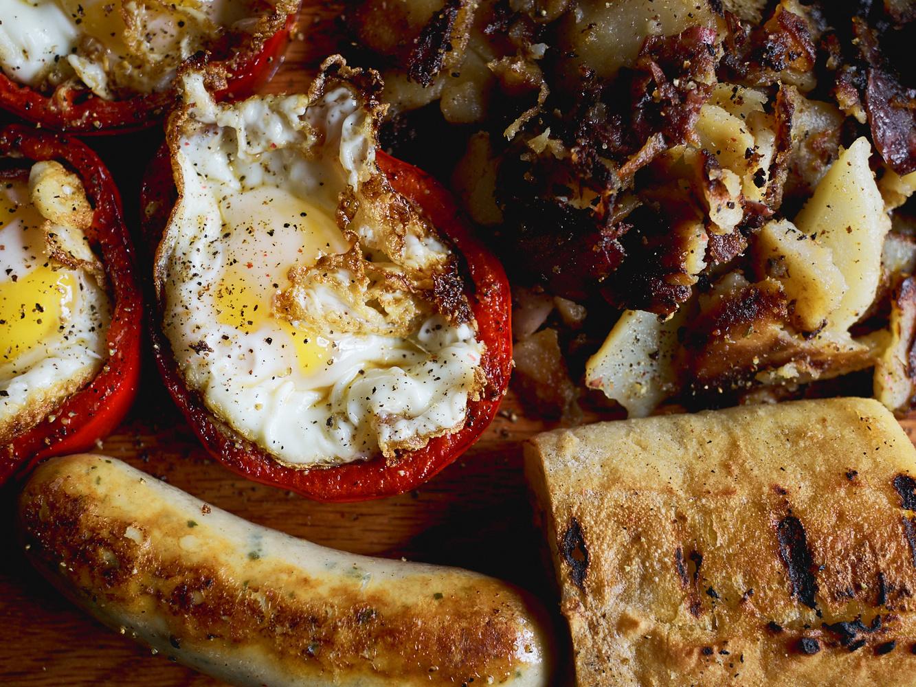 Egg in a Bell Breakfast by Julian Foglietti