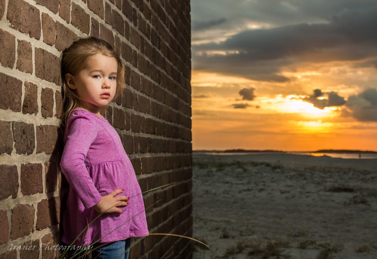 Sunset Girl by Felix Graner