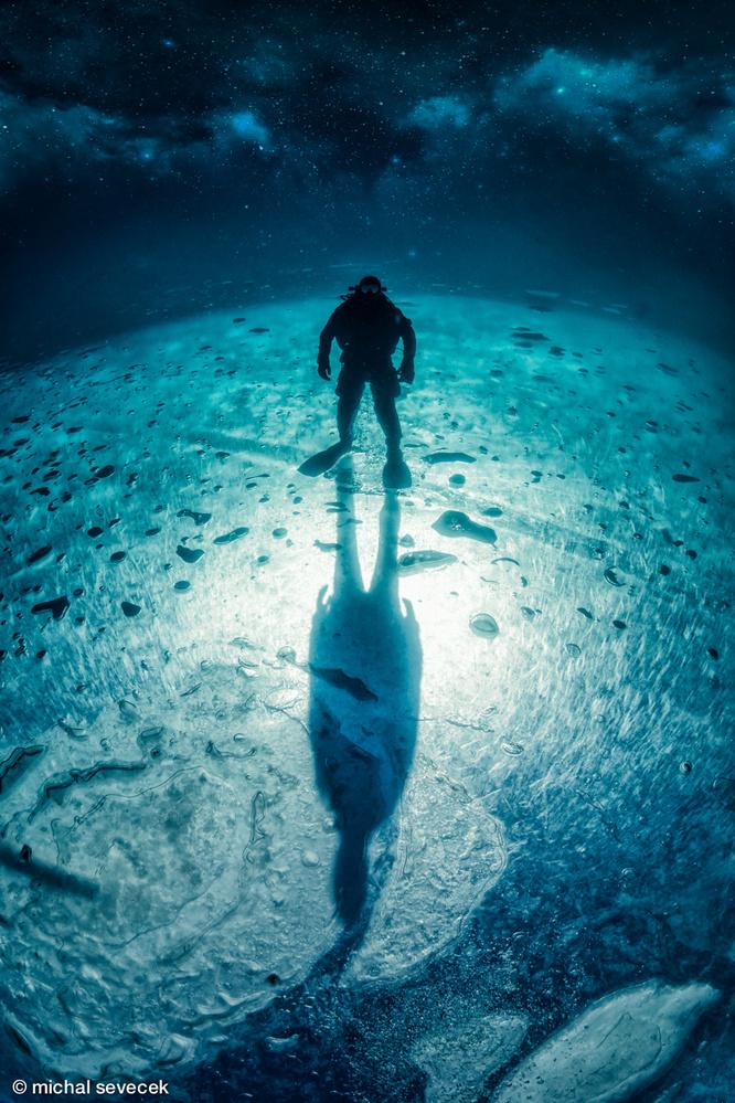 Frozen Planet by Michal Sevecek