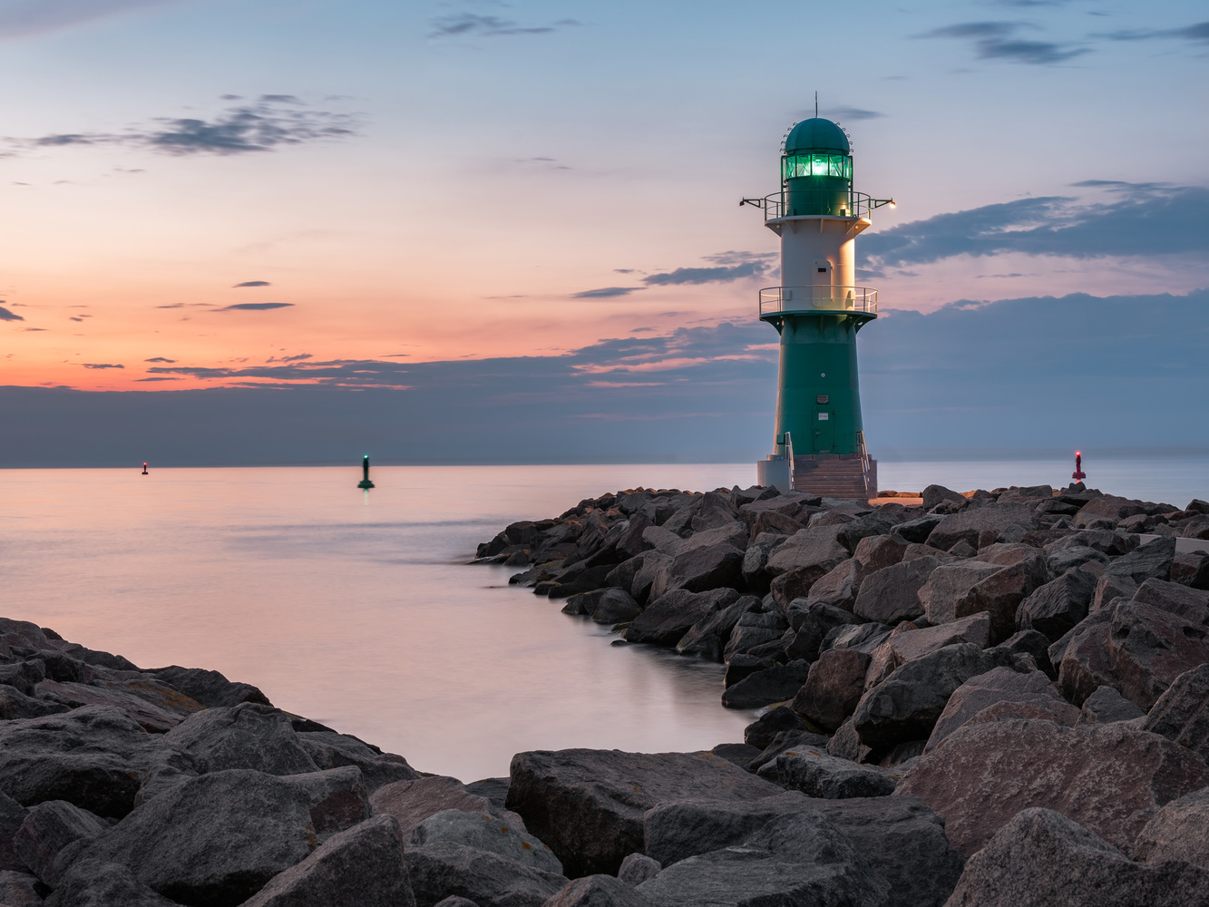 At The Green Lighthouse by Alexander Meier