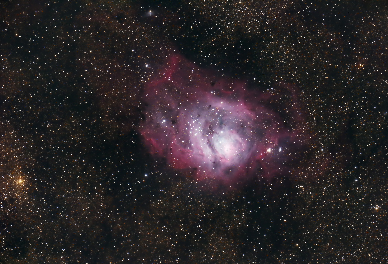 Lagoon Nebula by Braden Henricksen