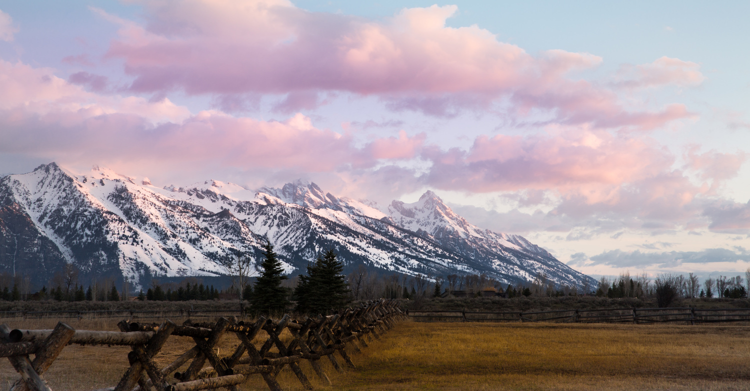 Teton Sunrise by Matthew Potter