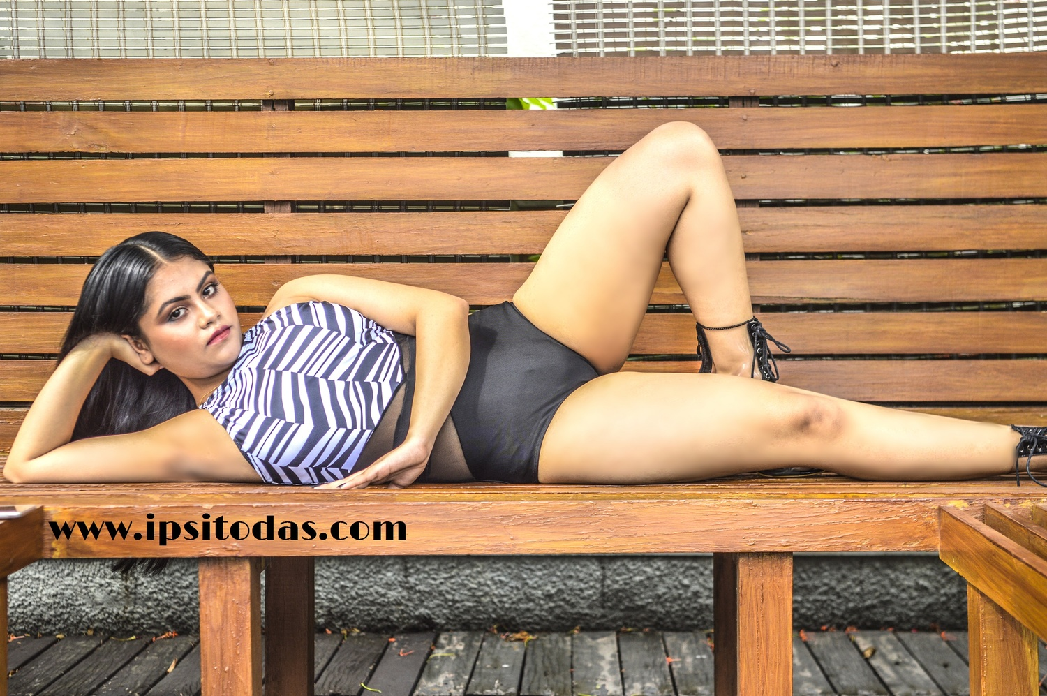 lingerei swimsuit photographed by Ipsito Das by Ipsito Das