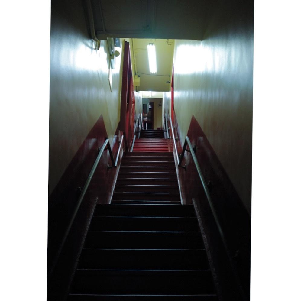 Dark Stairwell by Federico Trevino