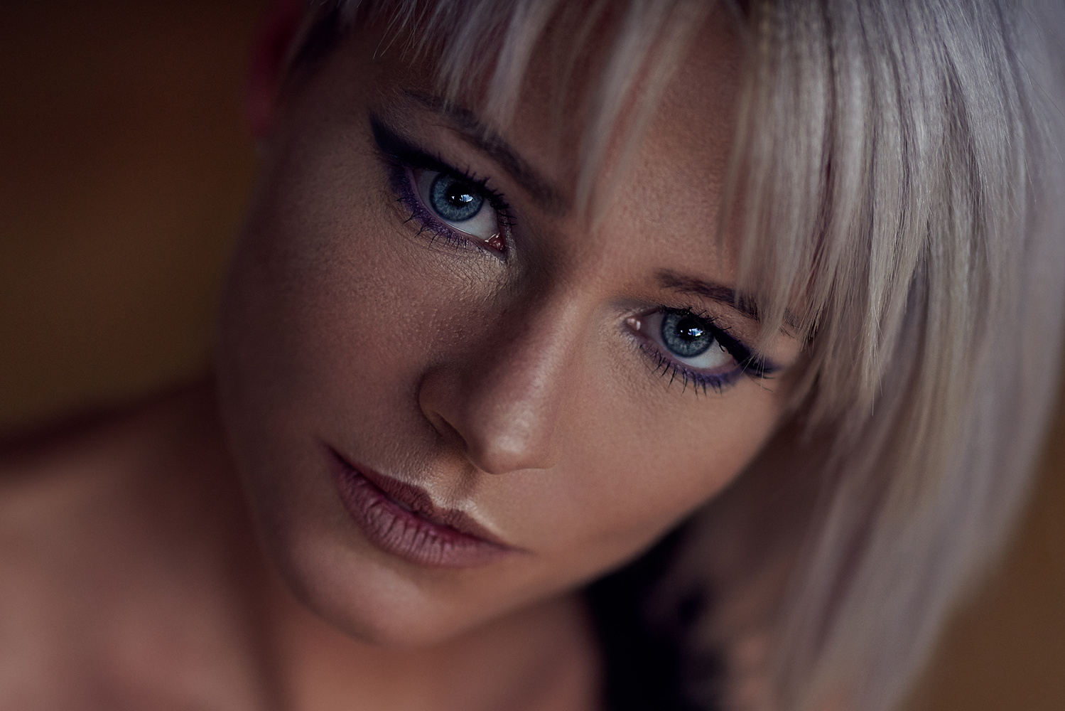 Total Blue Close Up by Design Pictures