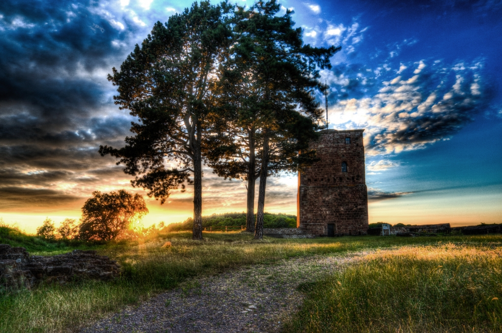 Siersburg Sunset by Tim Rehpenning