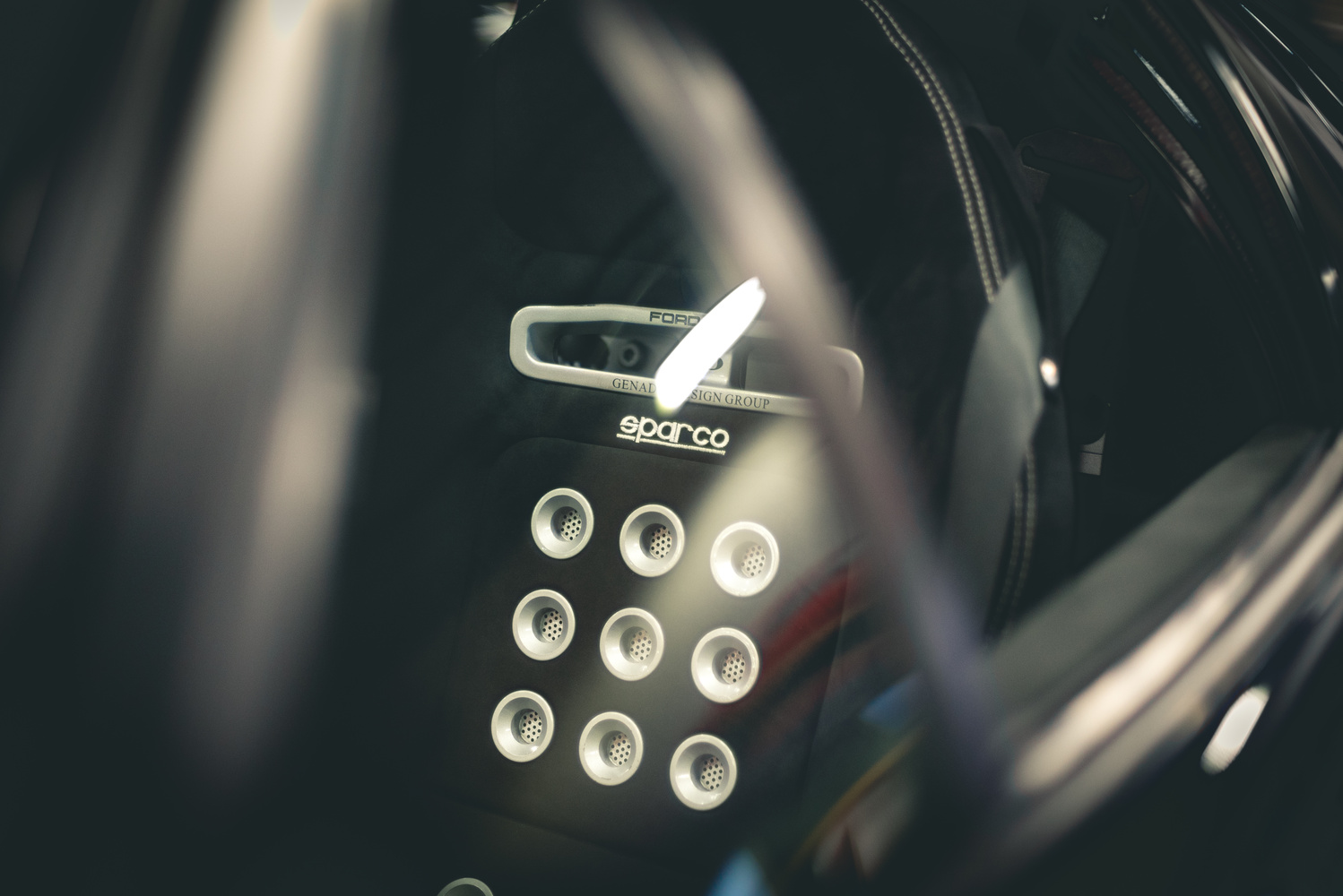 Ford GT Seat by Eric Parks