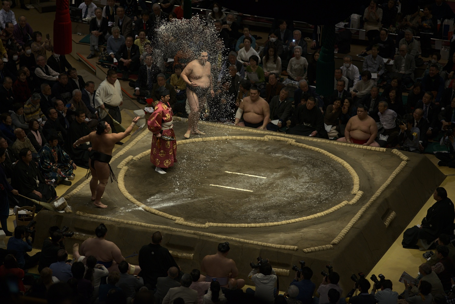 Yesterday I was at a sumo wrestling tournament in Tokyo for the first time by Jeena Paradies