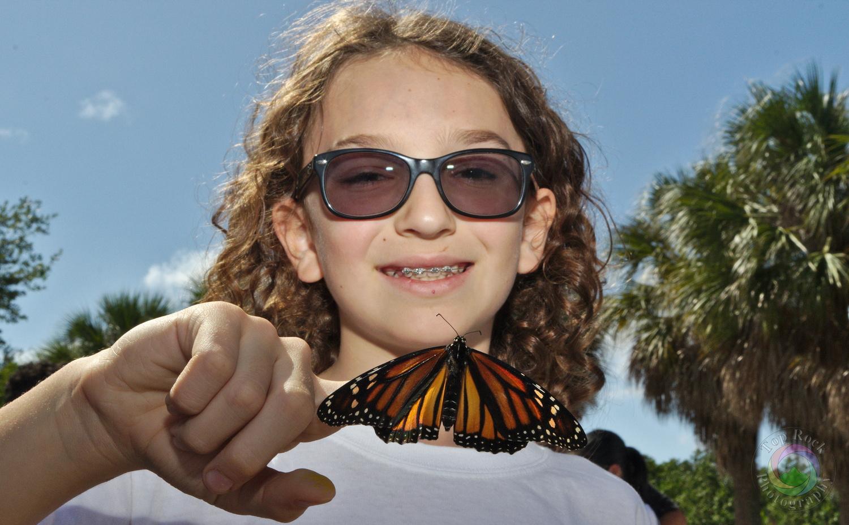 Butterfly Release by Karim Hosein