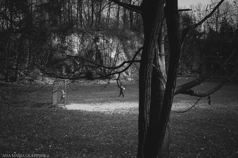 In the park by Ada Glazewska