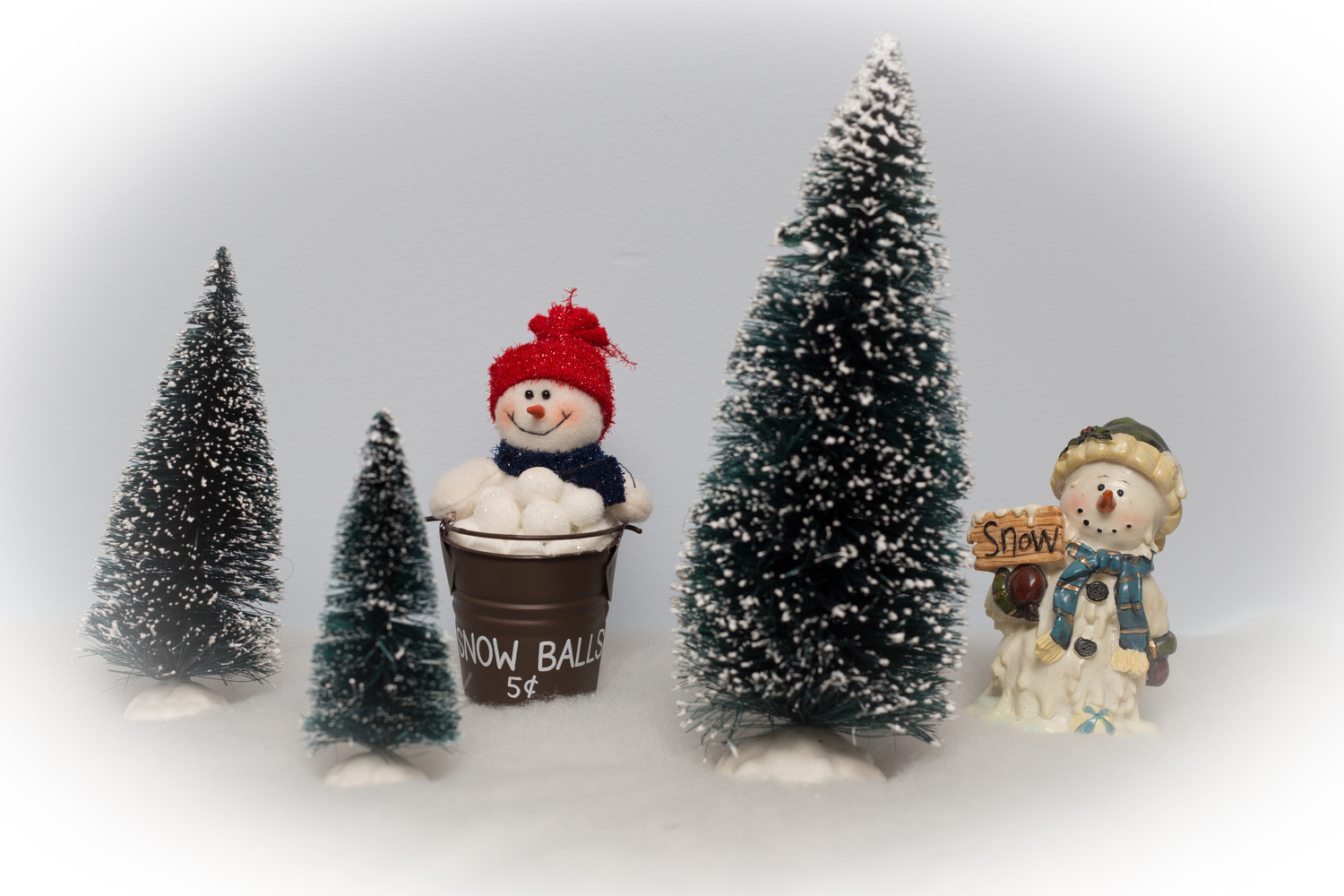 Fun in a Christmas Snow by Robert Lee