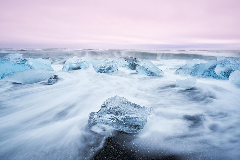 Diamond beach by Marc Marchal