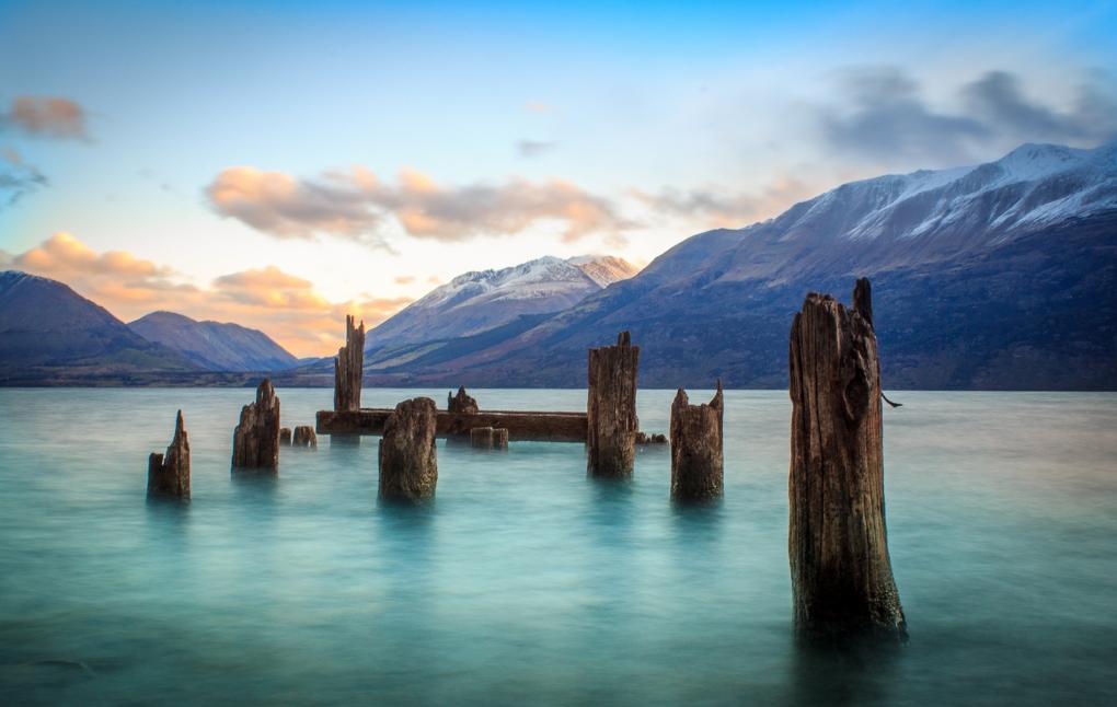 Lake Wakatipu by Rogan Templer