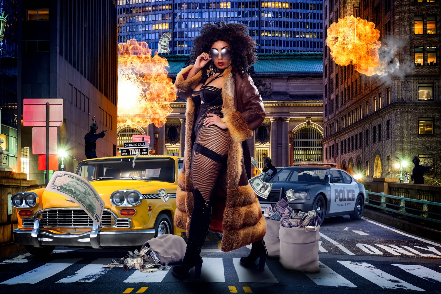 Foxy Brown by Dominic Deacon