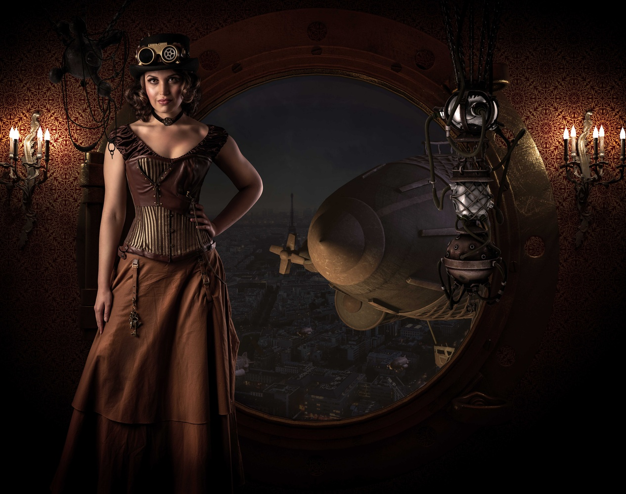 Steampunk Navigator by Dominic Deacon