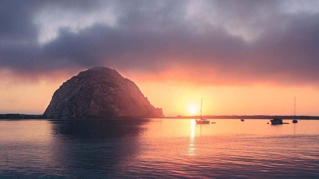 Morro Bay by Neon Howe