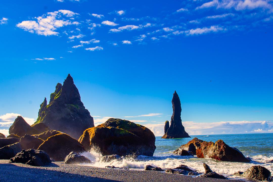 Reynisfjara Black Sand Beach by David Sornberger