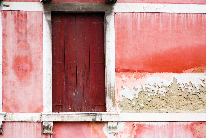 Venetian Red Door  by Michael Lunceford