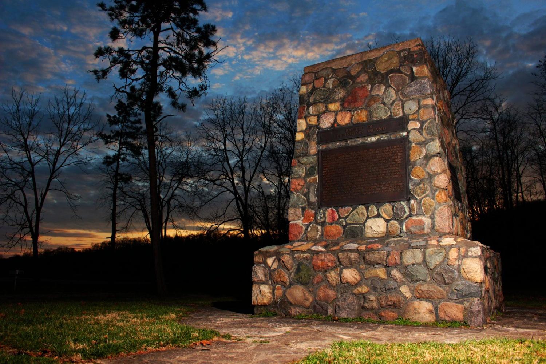 Civil War Monument by Benjamin Dailey