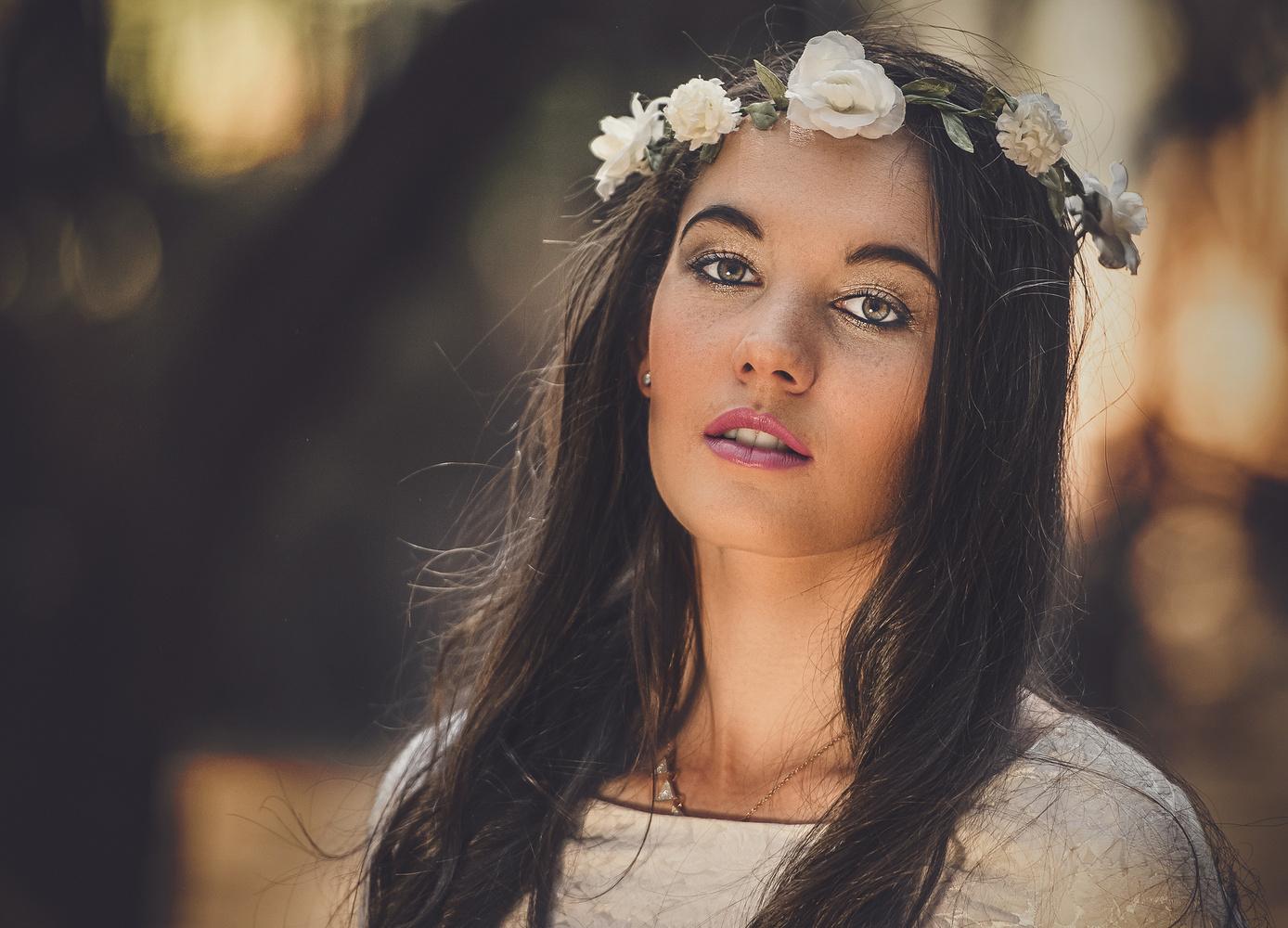 Bride of flowers by Jan Swanepoel