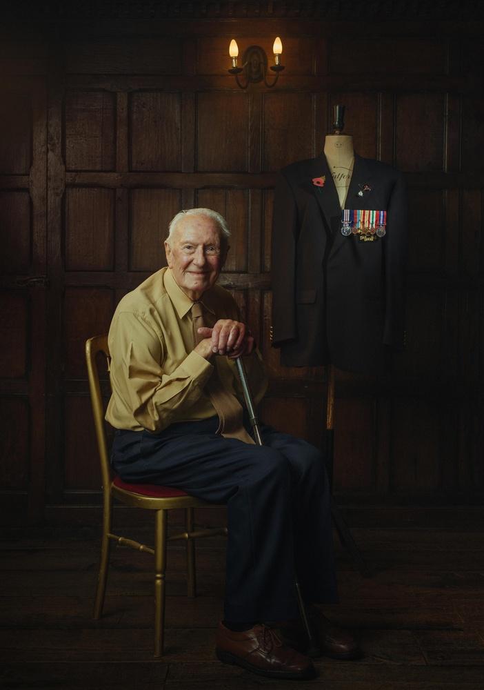 WW2 Veteran - Alf Hunt by Tommy Reynolds
